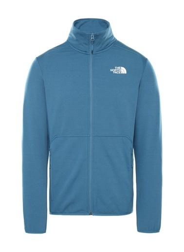 The North Face The North Face Quest Tam Fermuarlı Erkek Sweatshirt Mavi Mavi